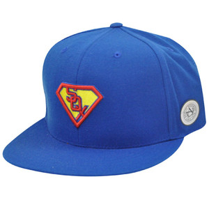 MLB CHICAGO WHITE SOX FITTED 7 3/4 SUPERMAN FLAT HAT