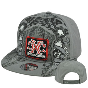 Affliction CXC Xtreme Couture Hat Cap Flat Bill Snapback Constructed Fashion