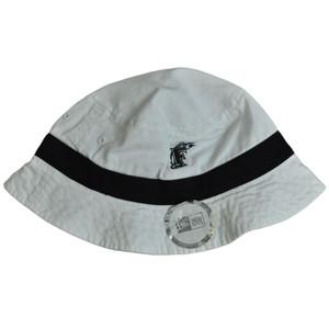MLB Florida Marlins Baseball New Era One Size Sun Bucket Beach Hat Cap Licensed