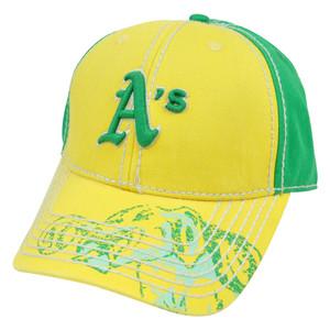 MLB Oakland Athletics Pro Stitch American Needle Vintage Washed Cotton Hat Cap