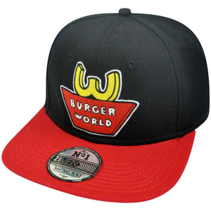 21 Men Beavis and Butthead Character Burger World Theme Snapback Cap Hat