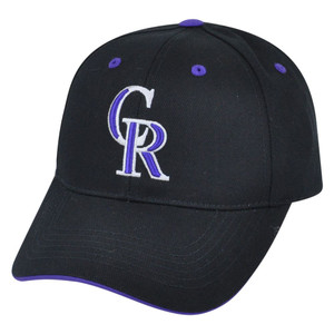 MLB Fan Favorite Colorado Rockies Dalrymple Baseball Adjustable Velcro Hat Cap