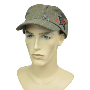 Brand Peter Grimm Fitted Large Lg Stripped Fatigue Military Star Hat Cap Cadet