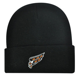 BEANIE KNIT HAT CAP NEW WASHINGTON CAPITALS BLACK TOQUE