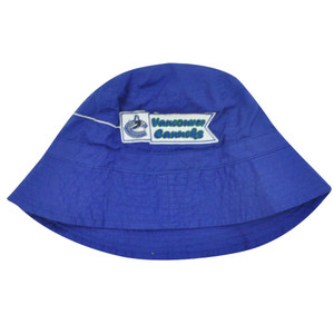 NHL LNH VANCOUVER CANUCKS HOCKEY BUCKET KIDS HAT BLUE