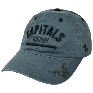 NHL Washington Capitals Zephyr Chiller Corduroy Adjustable Garment Wash Hat Cap