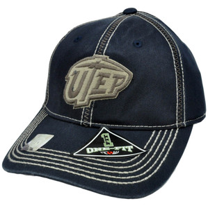 NCAA UTEP Miners Top of The World Stitches One Size Flex Fit Curved Bill Hat Cap