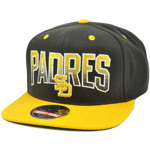 MLB American Needle Retro Flat Bill Snapback Hat Cap Hayes Wool San Diego Padres