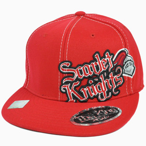 NCAA Top The World Rutgers Scarlet Knights Flat Bill Flex Fit One Size Hat Cap
