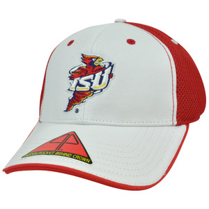 NCAA Butter Pro Pocket Flex Fit L/XL Construct Hat Cap Mesh Iowa State Cyclones