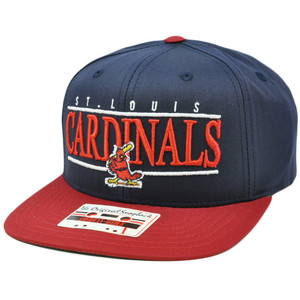 MLB American Needle Nineties Twill Hat Cap Snapback Flat Bill St Louis Cardinals