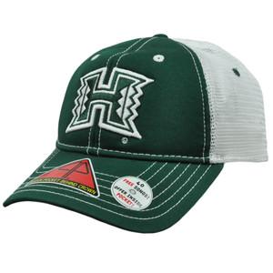 NCAA Hawaii Warriors Hat Cap Pro Pocket Mesh Flex Fit Cool Comfort Stretch M/L