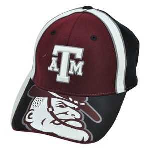 NCAA Texas A&M Aggies Top of World Construct One Size Flex Fit Hat Cap Acrylic