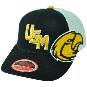 NCAA USM Southern Mississippi Golden Eagles Brisk Youth Flex Fit Mesh Hat Cap