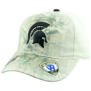 NCAA Michigan State Spartans Battle Fade Camo Flex Fit One Size Stretch Hat Cap