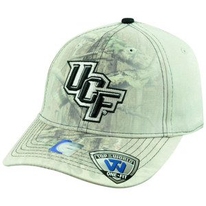 NCAA UCF Central Florida Knights Battle Fade Camouflage Flex Fit Stretch Hat Cap