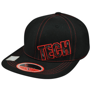 NCAA Texas Tech Red Raiders Vision Top of the World Youth Flex Fit Stretch Hat