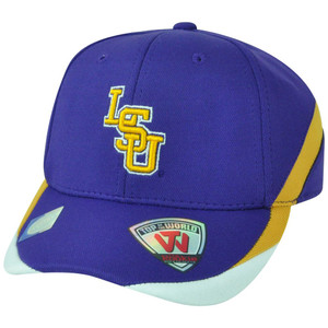 NCAA LSU Louisiana State Tigers Back Nine Rookie Youth Flex Fit Stretch Hat Cap