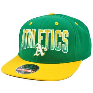 MLB American Needle Retro Snapback Cap Hat Hayes Flat Bill Oakland Athletics