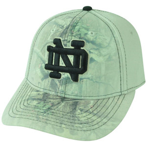 NCAA Notre Dame Fighting Irish Battle Fade Camouflage Flex Fit One Size Hat Cap
