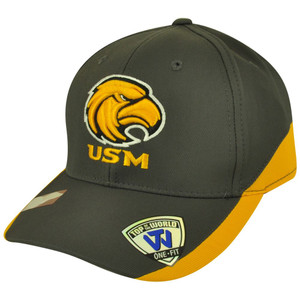 NCAA Top of the World Southern Mississippi Eagles Matchplay Flex Fit Hat Cap