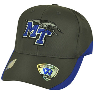 NCAA Top of the World Middle Tennessee Blue Raiders Matchplay Flex Fit Hat Cap