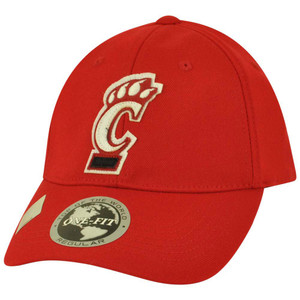 NCAA Top of the World Cincinnati Bearcats Jock One Fit Stretch Flex Fit Hat Cap