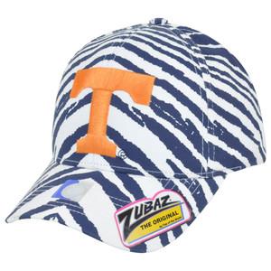 NCAA Tennessee Volunteers Top of the World Smash Zubaz Zebra Flex Fit Hat Cap