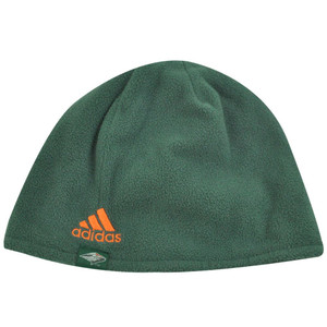 NCAA BEANIE KNIT TOQUE CUFFLESS MIAMI HURRICANES ADIDAS