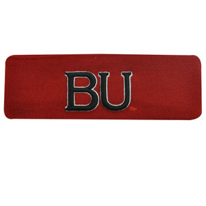 NCAA HEAD BAND SWEAT BU BOSTON BULLDOGS RED BLACK