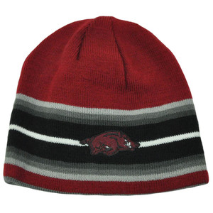 NCAA Arkansas Razorbacks Youth Reversible Top of the World Knit Toque Beanie