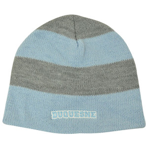 NCAA American Needle Women Ladies Duquesne Dukes Stripe Cuffless Knit Beanie Hat