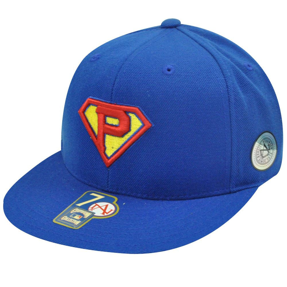 ce564b65ad0 MLB PITTSBURGH PIRATES FITTED 6 7 8 FLAT SUPERMAN HAT - Cap Store Online