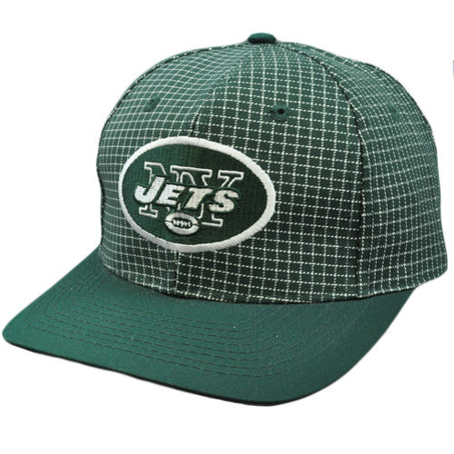 NFL New York Jets Vintage Retro Deadstock Snapback Twins Green White ... 6a78499279d6