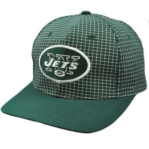 NFL New York Jets Vintage Retro Deadstock Snapback Twins Green White Hat Cap