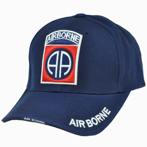 Air Borne Military United State Army Jump School Paratrooper Curve Bill hat Cap