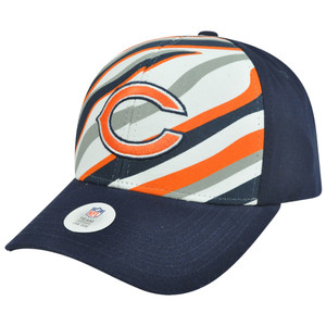 NFL Chicago Bears Martin Adjustable Velcro Curved Bill Constructed Hat Cap