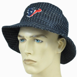 NFL Houston Texans Reebok Bucket Hat Football AFC South Division Small Medium