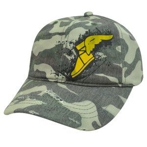 GOODYEAR GOOD YEAR TIRES LOGO GREEN CAMO HAT CAP NEW