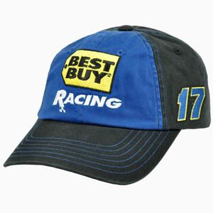 Best Buy Speedway Racing Matt Kenseth #17 Garment Wash Roush Fenway Race Hat Cap