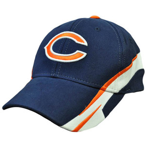 NFL Chicago Bears Navy Blue Orange Large XLarge Licensed Product Hat Cap