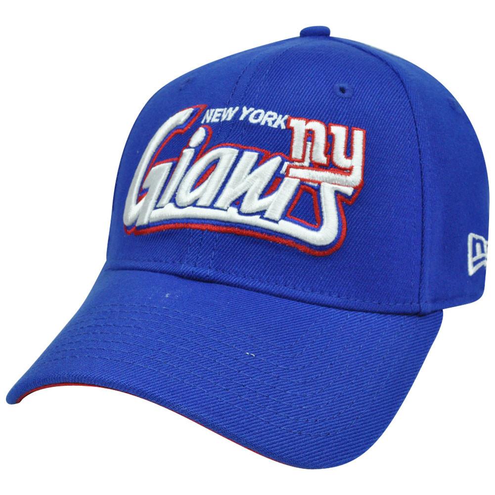 NFL New Era 39Thirty 3930 Tail Swoop Classic Flex Fit Hat New York ... 7441a23f94a3