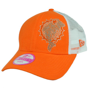 New Era 9Forty 940 Women Ladies Mesh Jersey Shimmer Adjustable Rhinestone Velcro