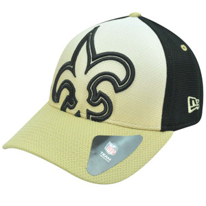 NFL New Era 39Thirty 3930 Gradation New Orleans Saints Flex Fit M/L Hat Cap