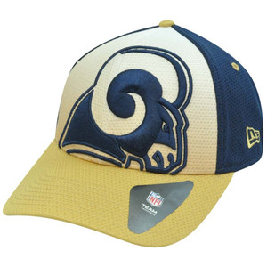 NFL New Era 39Thirty 3930 Gradation St Saint Louis Rams Flex Fit S/M Hat Cap
