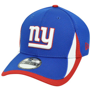 NFL New Era 3930 New York Giants 2013 Training Camp Flex Fit S/M Hat Cap Blue