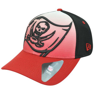 NFL New Era 39Thirty 3930 Gradation Tampa Bay Buccaneers Flex Fit S/M Hat Cap