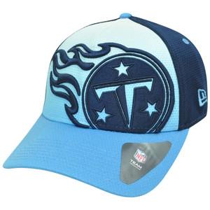 NFL New Era 39Thirty 3930 Gradation Tennessee Titans Flex Fit S/M Hat Cap