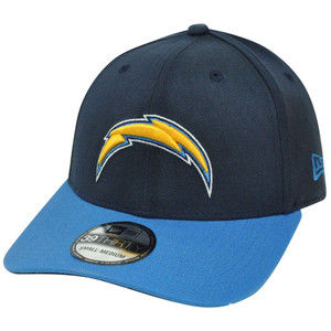 NFL New Era 39Thirty 3930 San Diego Chargers TD Classic Flex Fit M/L Hat Cap
