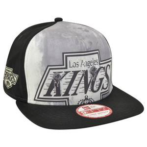 NHL New Era 9Fifty A Frame Over Watercolor Los Angeles Kings Snapback Hat Cap